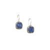 Gerochristo Sterling Silver Medieval Doublet Drop Hook Earrings.