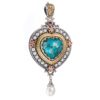 """<h1 class=""""product_title entry-title"""">Imperial heart pendant in 18K Gold and Sterling Silver.</h1>"""