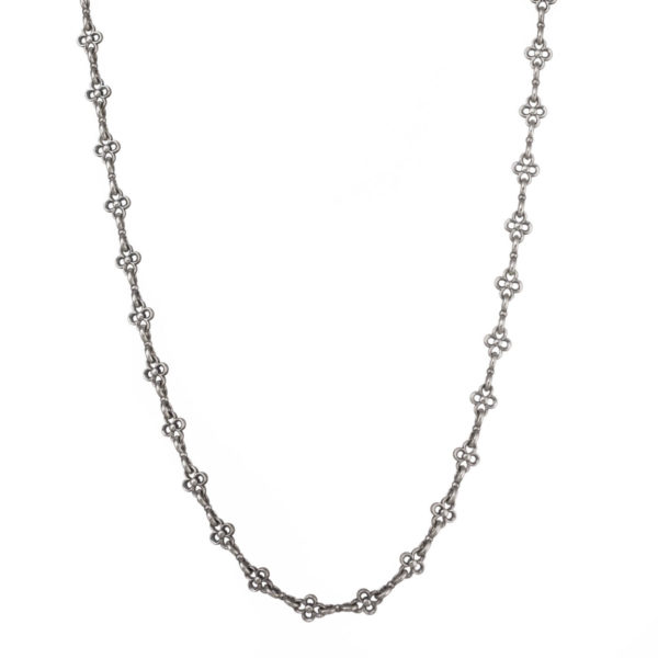 Sterling Silver Medieval-Byzantine Chain Necklace