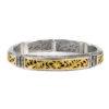 18K Gold and Silver 925, handmade, Byzantine bracelet by Gerochristo.