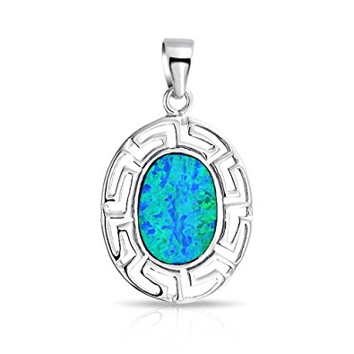 Silver 925, handmade pendant with opal stone.