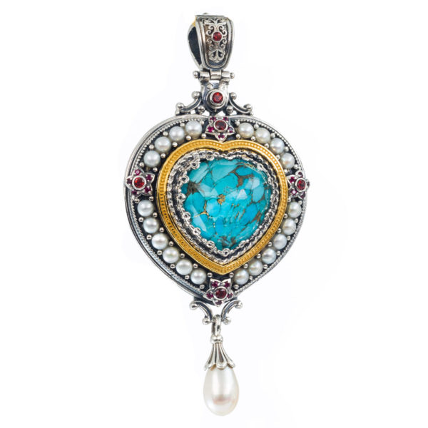 """<h1 class=""""product_title entry-title"""">Imperial pendant in Sterling Silver with Gold Plated Parts.</h1>"""