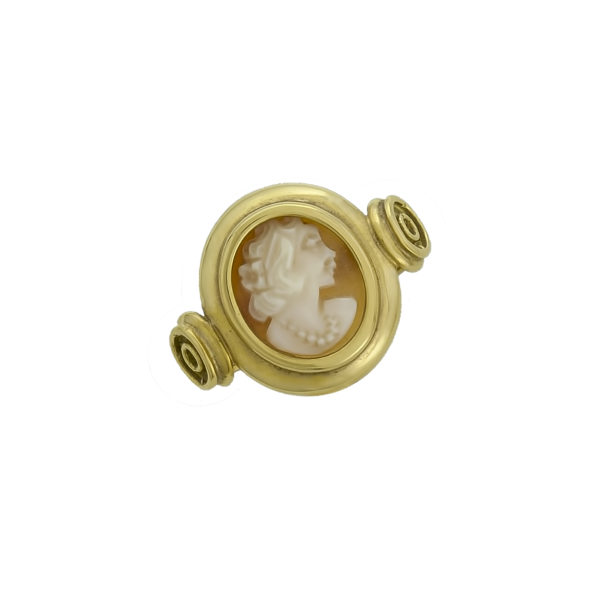 18K Gold, Cameo ring.