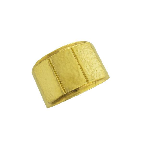 18K Gold,handmade ring.